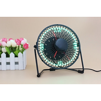 Nowość UF-240-07 130cm Clock Fan with Floating LED Time Display  145*168*115 Czarny