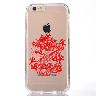 Varten Läpinäkyvä / Kuvio Etui Takakuori Etui Eläin Pehmeä TPU varten AppleiPhone 7 Plus / iPhone 7 / iPhone 6s Plus/6 Plus / iPhone 6s/6