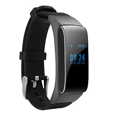 Smart rannerengas Android Poltetut kalorit / Askelmittarit / Audio Sleep Tracker / Handsfree puhelut / Viesti-ohjain / 100-120 / Urheilu