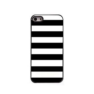 caso duro padrão de alumínio pá para iPhone 5 / 5s