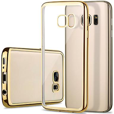 nieuwe klassieke luxe mobiele telefoon TPU soft shell plating voor Samsung Galaxy S7 / S7 edge / s6 / s6 rand