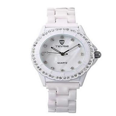 Tevise Γυναικεία Για Ζευγάρια Μοδάτο Ρολόι μηχανικό ρολόι Προσομοίωσης Ρόμβος Ρολόι Χαλαζίας Ανθεκτικό στο Νερό Φωτίζει απομίμηση