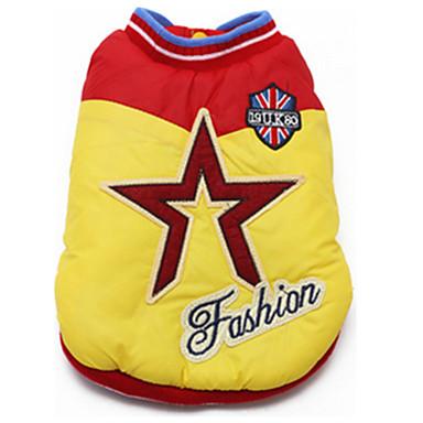 Köpek Paltolar Köpek Giyimi Günlük/Sade Yıldızlar Sarı