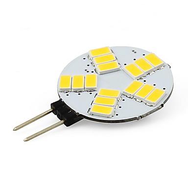 3W G4 Żarówki LED bi-pin T 15 SMD 5730 210 lm Ciepła biel / Zimna biel V 1 sztuka