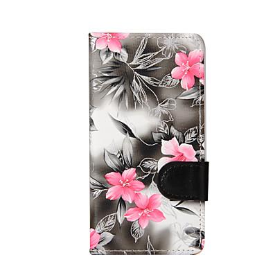 غطاء من أجل LG G3 البسيطة LG K8 LG LG K4 LG K10 حامل البطاقات محفظة مع حامل قلب غطاء كامل للجسم زهور قاسي جلد PU إلى