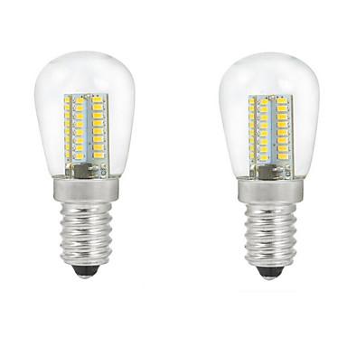 e14 led globe ampuller c35 104pcs smd 3014 500lm sıcak beyaz soğuk beyaz 2700-3000k / 6000-6500k dekoratif ac 220-240v