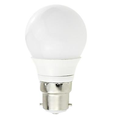 1 buc 3w b22 cob bec cu LED-uri ac / ac 12 - 24v / ac 220V lampă de economisire a energiei de uz casnic