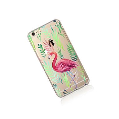 TPU Custodia Fenicottero Fantasia 8 iPhone Traslucido iPhone iPhone Apple X retro per iPhone Plus 8 Per Plus 8 iPhone X iPhone Per disegno 05399258 Morbido 7 6rawAq6