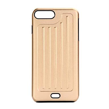 Için Kaplama Pouzdro Arka Kılıf Pouzdro Solid Renkli Sert Metal için Apple iPhone 7 Plus / iPhone 7 / iPhone 6s Plus/6 Plus / iPhone 6s/6