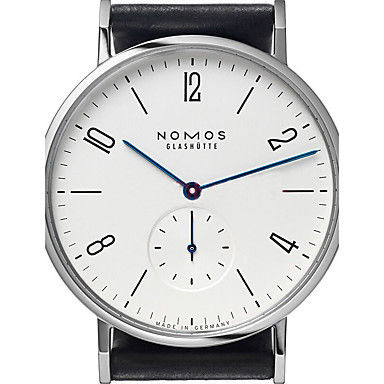 זול שעוני גברים-בגדי ריקוד גברים שעוני אופנה קווארץ קוורץ יפני גדול עור שחור 30 m שעונים יום יומיים / אנלוגי קלסי יום יומי אריסטו - לבן שחור שנה אחת חיי סוללה / מתכת אל חלד / KC 377A