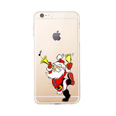 Varten Läpinäkyvä / Kuvio Etui Takakuori Etui Joulu Pehmeä TPU varten AppleiPhone 7 Plus / iPhone 7 / iPhone 6s Plus/6 Plus / iPhone 6s/6