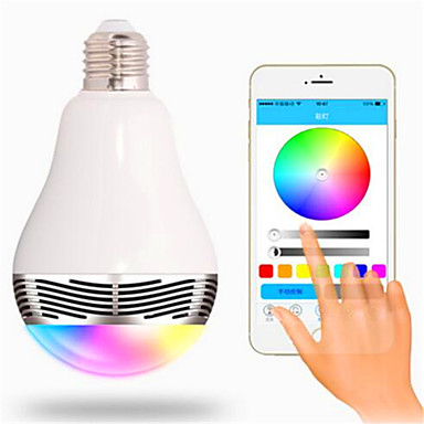 RGB Kablosuz Others Wireless Bluetooth 4, colorful dimming LED lights Fildişi