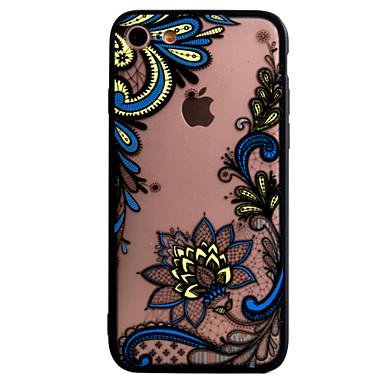 Kılıf Na Apple iPhone 7 iPhone 6 Etui iPhone 5 Wytłaczany wzór Etui na tył Koronka Printing Twarde PC na iPhone 7 Plus iPhone 7 iPhone 6s