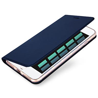 Etui Käyttötarkoitus Apple iPhone X iPhone 8 iPhone 6 iPhone 7 Plus iPhone 7 Korttikotelo Suojakuori Yhtenäinen väri Kova PU-nahka varten