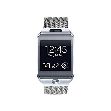 Watch Band Gear 2 R380 için Samsung Galaxy Milan Döngüsü Paslanmaz Çelik Bilek Askısı