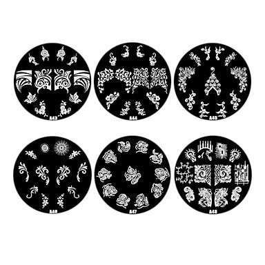 Цветы Советы для ногтей Накладные ногти Салонные дизайны для нейл-арта макияж Косметические