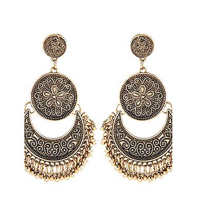 Γυναικεία Κρεμαστά Σκουλαρίκια Κοσμήματα με στυλ Μοντέρνα Ευρωπαϊκό Κράμα Κρεμαστό Κοσμήματα Χρυσό Ασημί Καθημερινά Κοστούμια Κοσμήματα