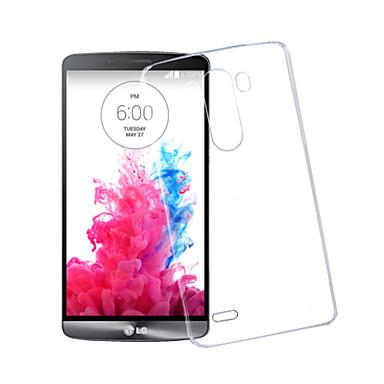 Voor LG hoesje Transparant hoesje Achterkantje hoesje Effen kleur Hard PC LG LG G3