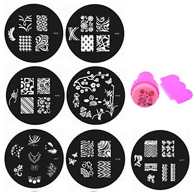 21 Unha Arte Decoração strass pérolas maquiagem Cosméticos Designs para Manicure