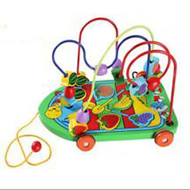 Zabawka edukacyjna Gadżety antystresowe Zabawki Zabawne Okrągły Samochód Drewniany 1 Sztuk Dla dziewczynek Dla chłopców Dzień Dziecka