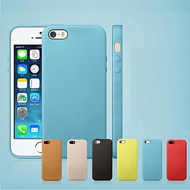 Capa posterior anti-choque genuína para iPhone 7 7 plus 6s 6 Plus SE 5s 5