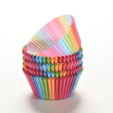 Tarjottimet Orastava Piirakka Cupcake Paperi Ekologinen DIY Korkealaatuinen