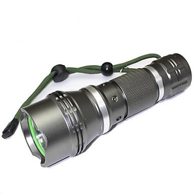 LED Flashlights LED 1200 lm 5 طريقة LED مع البطارية والشاحن زوومابلي Adjustable Focus ضد الماء عالية الطاقة ضوء سوبر حجم مصغر