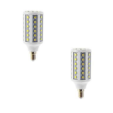 E14 Becuri LED Corn T 86 LED-uri SMD 5050 Alb Cald 960lm 2700-3300K AC 220-240V
