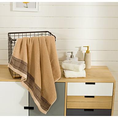 Σετ Πετσέτες μπάνιου Ζακάρ 100% Βαμβάκι Πετσέτα μπάνιου Πετσέτα Πλυσίματος Πετσέτα Μπάνιου