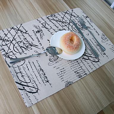 Ορθογώνιο Στάμπα Σουπλά , Μείγμα Βαμβάκι Υλικό Ξενοδοχείο Τραπέζι Πίνακας Dceoration