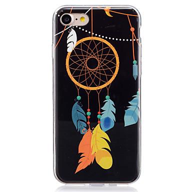 Pentru iPhone 7 iPhone 6 Carcasă iPhone 5 Carcase Huse Stralucire in intuneric IMD Carcasă Spate Maska Prinzător de vise Moale TPU pentru