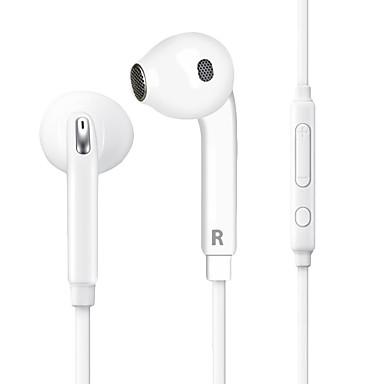 Huawei hw001 EARBUD Johto Kuulokkeet Sähköstaattinen Matkapuhelin Kuuloke Mikrofonilla Äänenvoimakkuuden säätö kuulokkeet