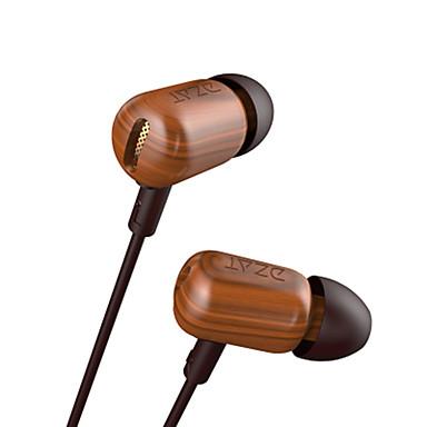 df-10 W uchu Przewodowy/a Słuchawki Dynamiczny Drewniany Telefon komórkowy Słuchawka Izolacja akustyczna z mikrofonem HIFI Zestaw
