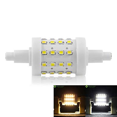 SENCART 5W 450-500 lm R7S LED-maïslampen Verzonken ombouw 36 leds SMD 2835 Dimbaar Warm wit Koel wit AC 85-265V