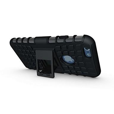 voordelige iPhone 7 hoesjes-hoesje Voor Apple iPhone 7 Plus / iPhone 7 / iPhone 6s Plus Schokbestendig / met standaard Achterkant Schild Zacht Siliconen
