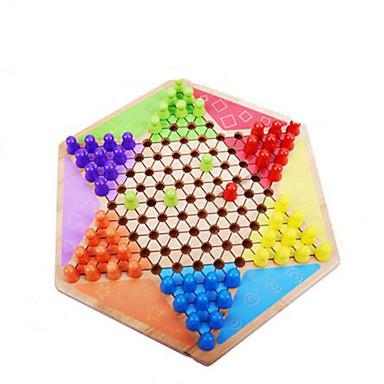 Τουβλάκια Επιτραπέζια παιχνίδια Εκπαιδευτικό παιχνίδι Παιχνίδια Τετράγωνο Κυκλικό Πρωτότυπες Μπαμπού Αγορίστικα Κοριτσίστικα 1 Κομμάτια