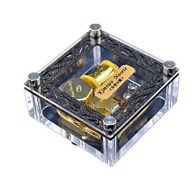 الصندوق الموسيقي لعبة الريح ألعاب مربع إبداعي حلو خاص قطع صبيان فتيات عيد ميلاد عيد الحب عيد الأطفال هدية