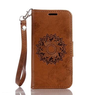 μάνταλα ανάγλυφο PU δερμάτινο πορτοφόλι για την Apple iTouch 5 iTouch 6