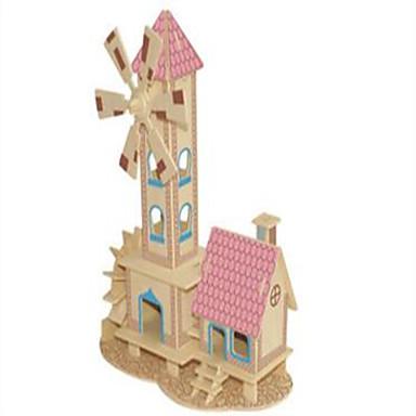παζλ Ξύλινα παζλ Δομικά στοιχεία DIY παιχνίδια Σφαίρα Σπίτι 1 Ξύλο Κρύσταλλο Μοντελισμός & Κατασκευές