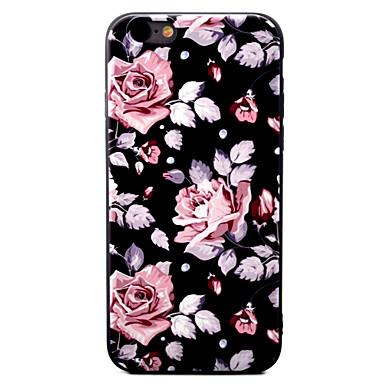Varten Kuvio Etui Takakuori Etui Kukka Pehmeä TPU varten Apple iPhone 7 Plus / iPhone 7 / iPhone 6s Plus/6 Plus / iPhone 6s/6