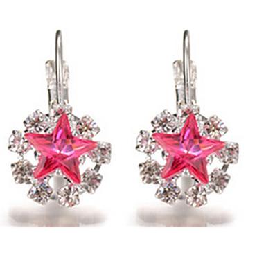 Damskie Kolczyki wiszące Kryształ Stop Biżuteria Impreza