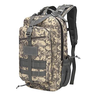 20-30L plecak Camping & Turystyka Wspinaczka Podróżowanie Zdatny do noszenia Yellow Dark Green