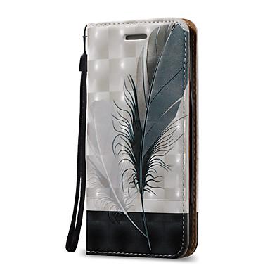 Kılıf Na Samsung Galaxy S7 edge S7 Etui na karty Portfel Flip Futerał Pióra Twarde Sztuczna skóra na S7 edge S7 S6 edge plus S6 edge S6