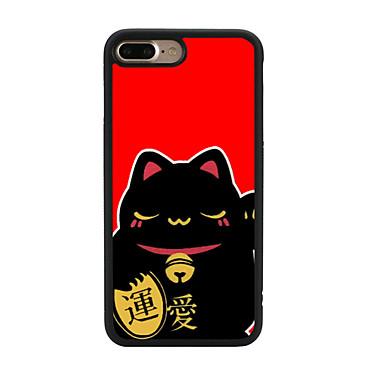 Varten Kuvio Etui Takakuori Etui Kissa Pehmeä TPU varten Apple iPhone 7 Plus iPhone 7 iPhone 6s Plus/6 Plus iPhone 6s/6