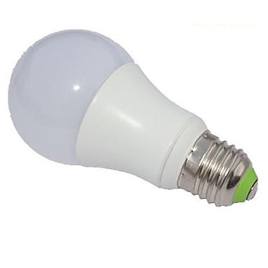 5W 450-500lm E26 / E27 LED Λάμπες Σφαίρα A60(A19) 1 LED χάντρες COB Με ροοστάτη Ψυχρό Λευκό 220-240V / RoHs