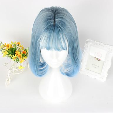 Lolita dulce Albastru lolita Peruci Lolita CM Peruci de Cosplay Perucă Pentru