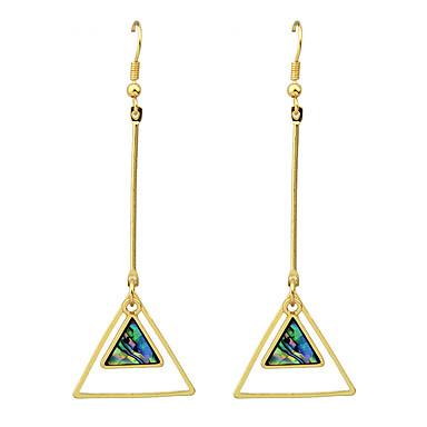 Σκουλαρίκι Κρεμαστά Σκουλαρίκια Κοσμήματα Γυναικεία Causal Κράμα 1 ζευγάρι Κίτρινο Χρυσό