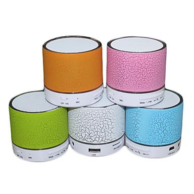 Draadloze bluetooth speakers 2.0 Draagbaar LED-licht Mini Geheugenkaart Ondersteund
