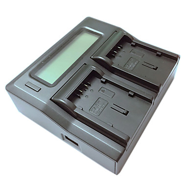 ismartdigi vbg130 260 lcd διπλή φορτιστή με καλώδιο φόρτισης αυτοκινήτου για Panasonic vbg130 260 batterys κάμερα