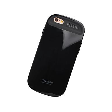 Käyttötarkoitus kotelot kuoret Iskunkestävä Takakuori Etui Yhtenäinen väri Kova TPU varten Apple iPhone 7 Plus iPhone 7 iPhone 6s Plus